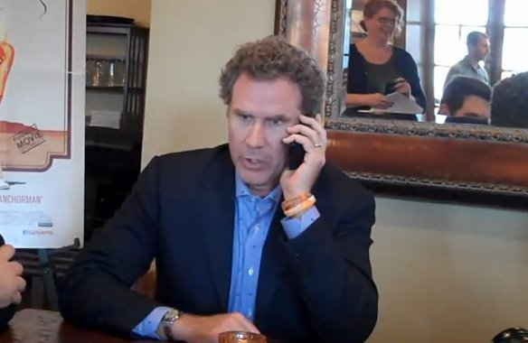 Hello, Mom?  Yeah, It's Me…WILL FERRELL!