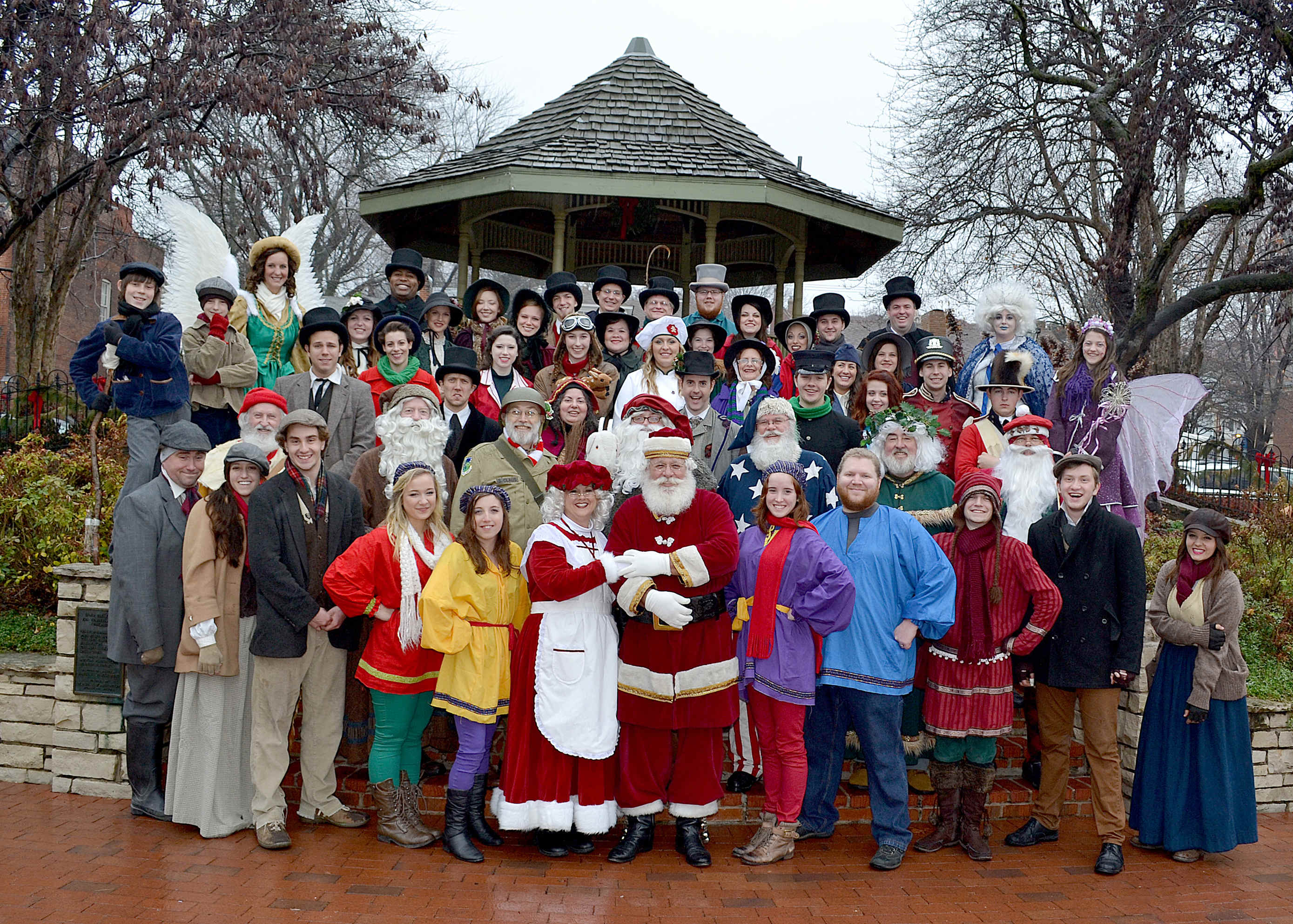 Christmas Traditions on Main Street in St. Charles