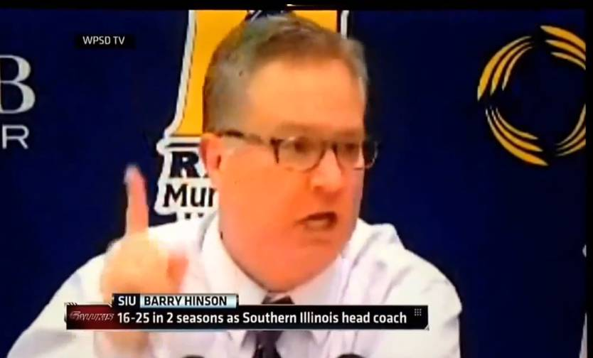 SIU Coach Goes Off on Team After Loss