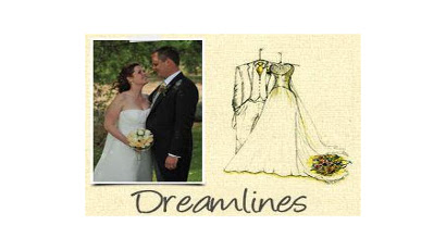 DreamLines –  Wedding Dress Sketch