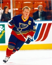 Brett Hull Signed Jersey to Benefit Salvation Army