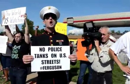 The Protests in Ferguson