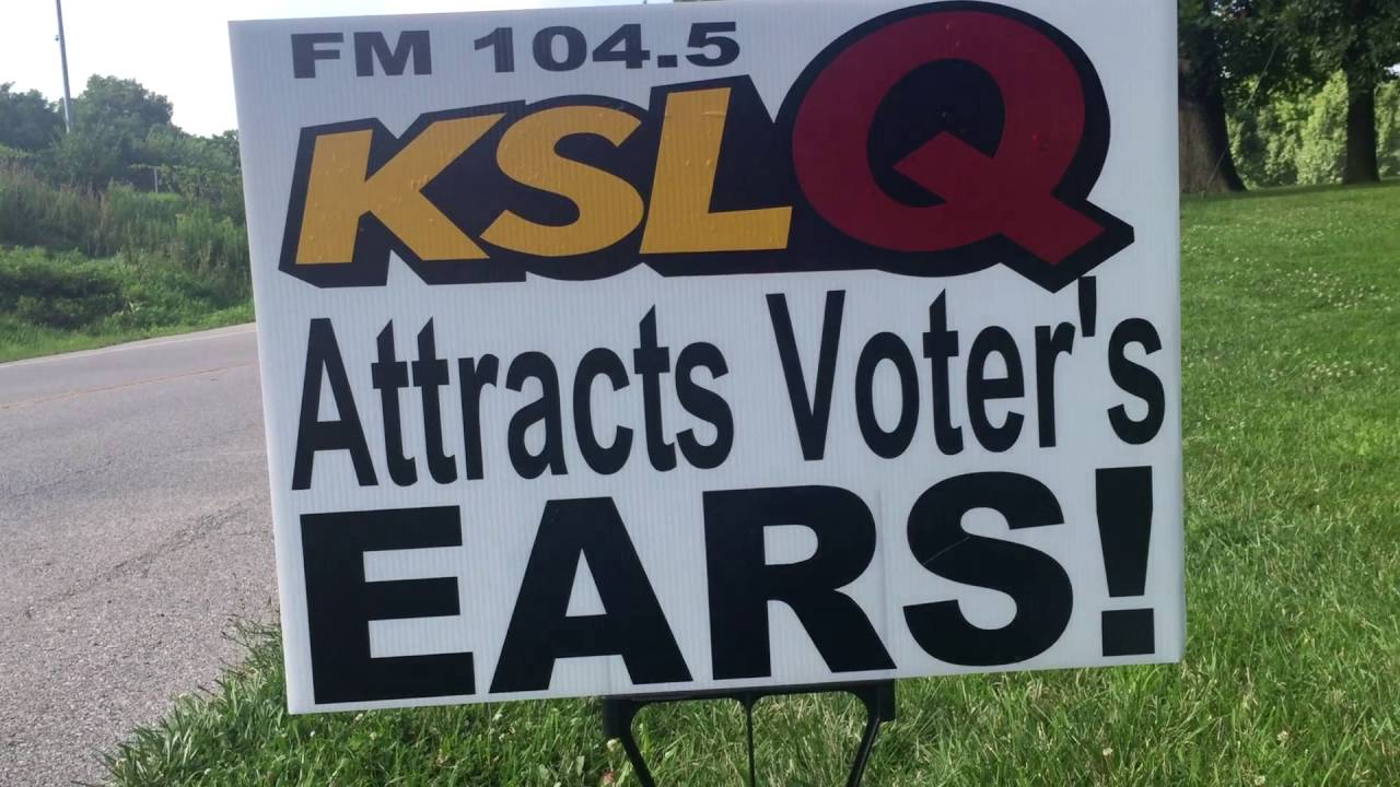 Voters have eyes and EARS!