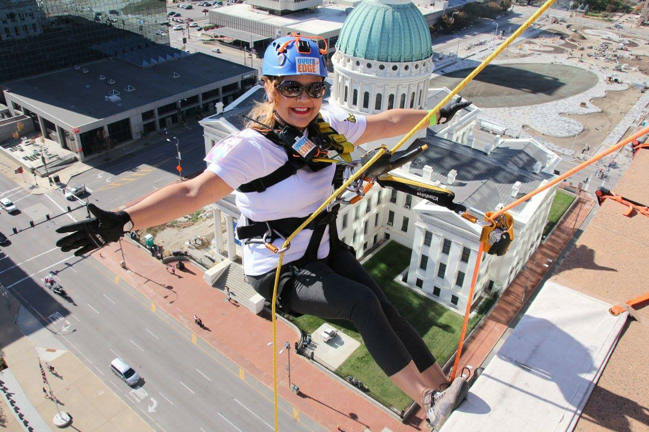 Special Olympics Over The Edge 2016