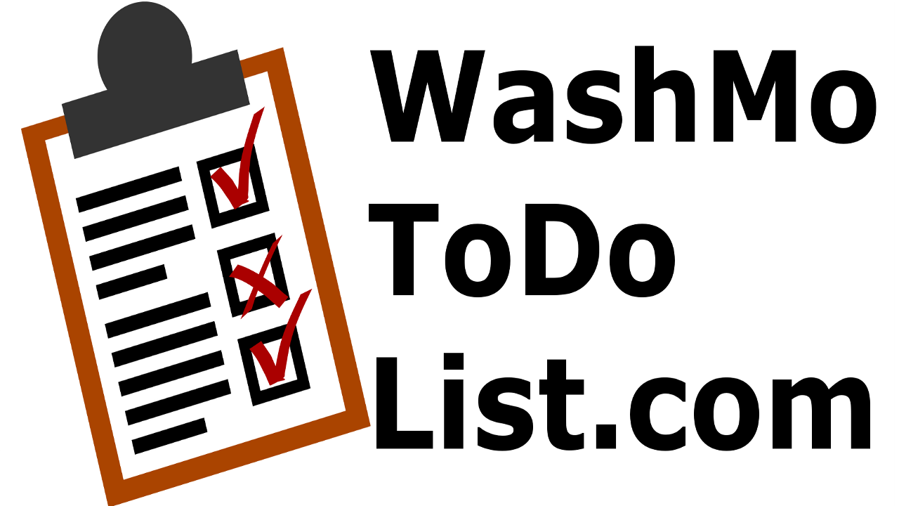 WashMo To Do List