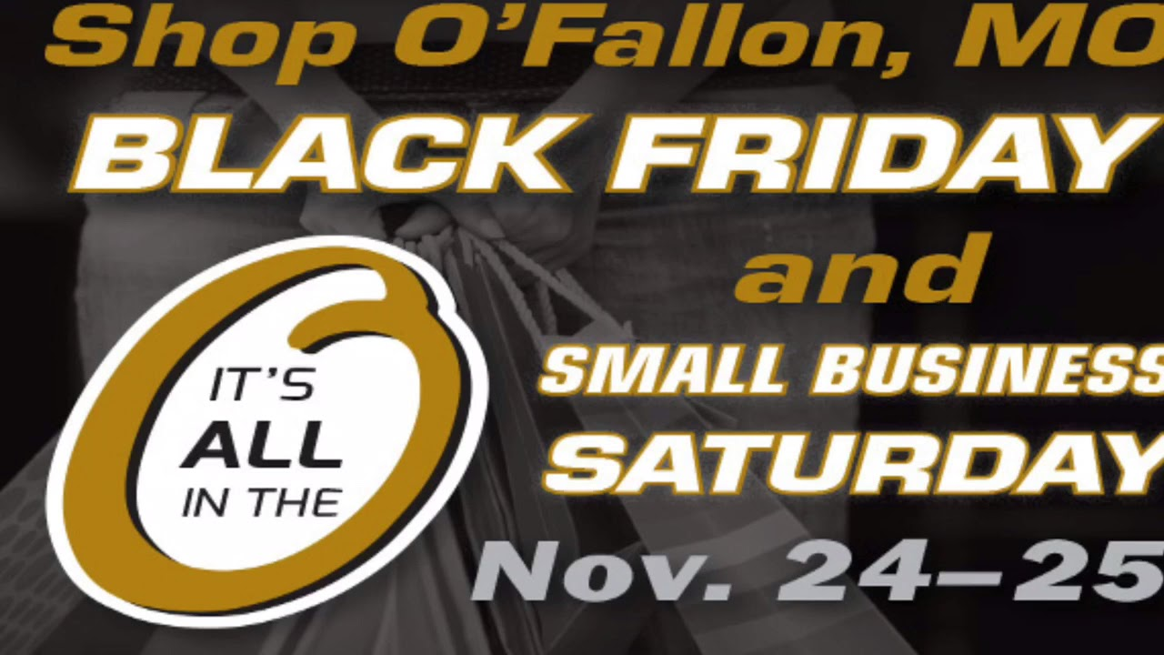 Shop O'Fallon on Black Friday and Small Biz Saturday