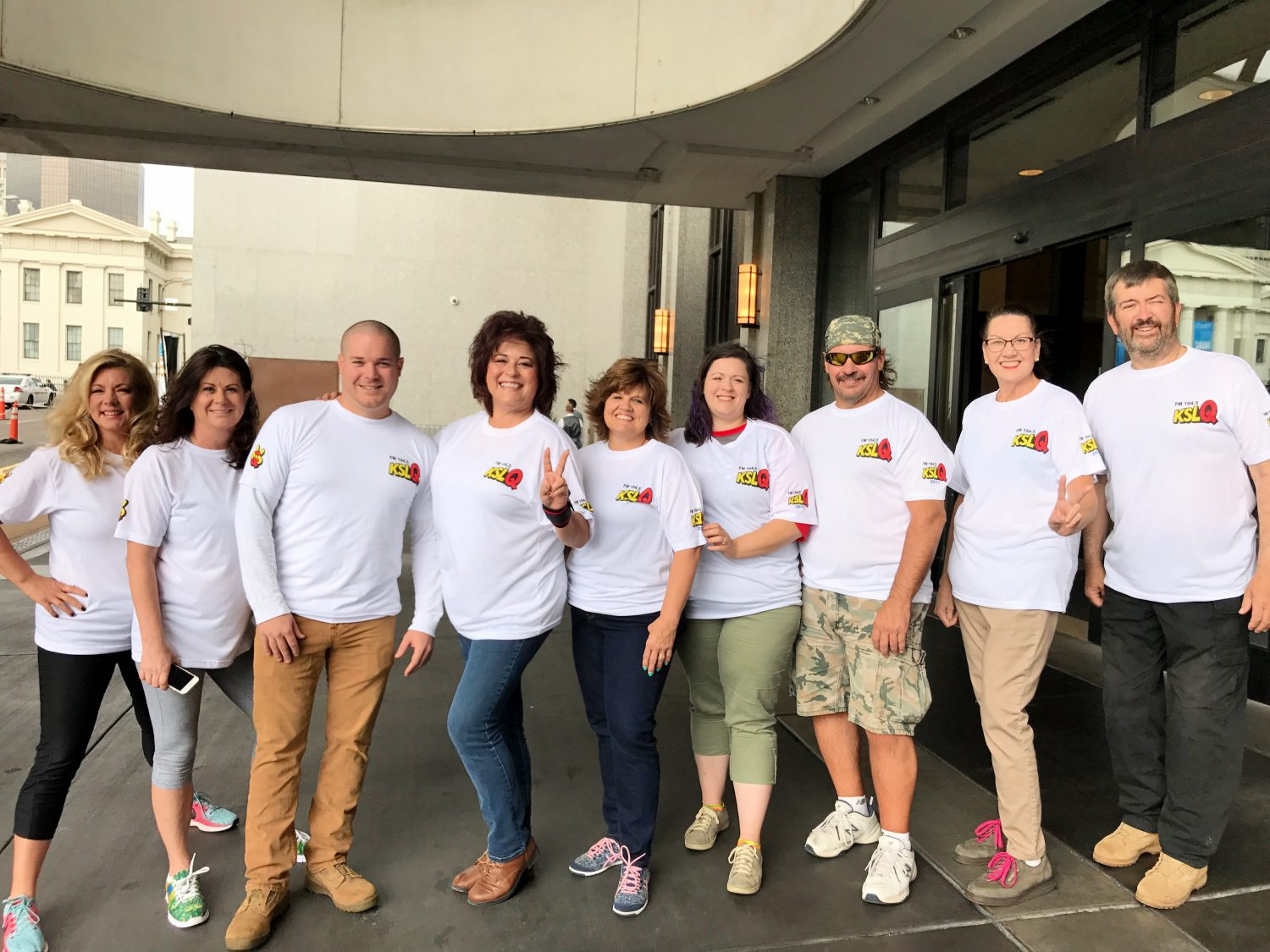 KSLQ Over The Edge Team Raises Most Money for Special Olympics
