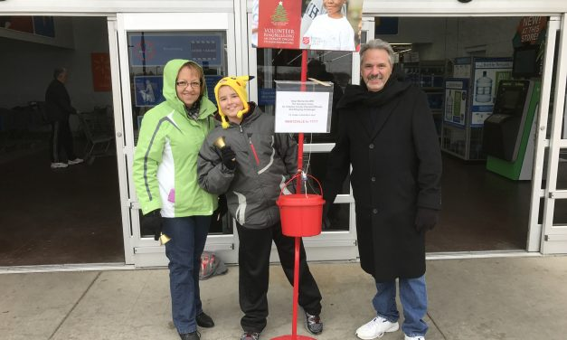 Salvation Army Mayor's Bell Ringing Challenge