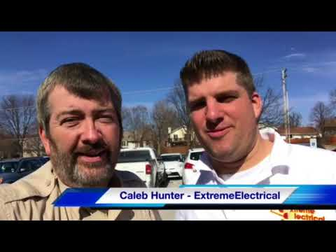 Caleb Hunter from Extreme Electrical Talks KSLQ